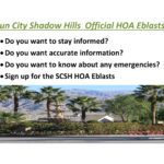 Staying Informed About Sun City Shadow Hills