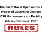 4 Rule Changes to the Governing Documents SCSH Members Are Voting On